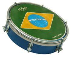 "Izzo 3697 Tamborim 06"" ABS Brazilian Flag"