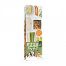Witte Molen PUUR lahodné tyčinky so zeleninou/paštrnák-kapusta/ pre hlodavce 180g