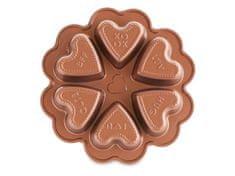 Nordic Ware Forma na mini srdíček bábovky Conversation Heart, 6 formiček Nordic Ware