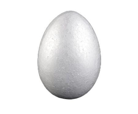 Kraftika 1db fehér diy polisztirol tojás 14x20cm, karácsonyi dísz