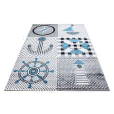 Jutex Detský koberec Kids 510 sivý