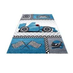 Jutex Detský koberec Kids 460 modrý