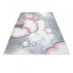 Jutex Detský koberec Playtime 0580A ružový