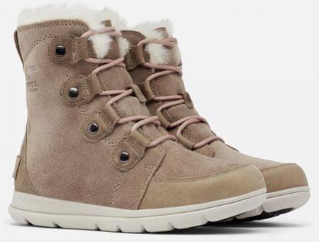 Sorel damskie buty zimowe Explorer Joan 41 brązowe