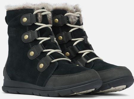 Sorel damskie buty zimowe Explorer Joan 36,5 czarne