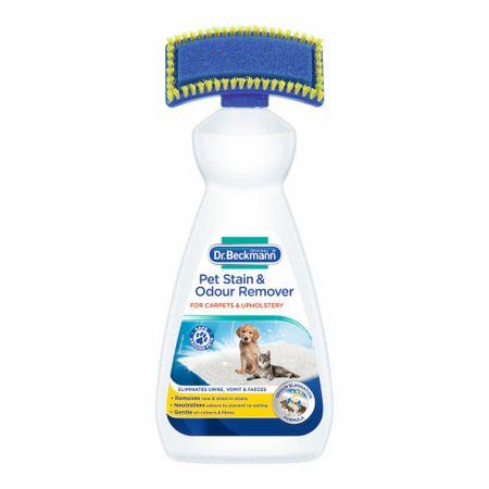 Dr. Beckmann odstranjivač mrlja i neugodnih mirisa kućnih ljubimaca za tepihe, 650 ml