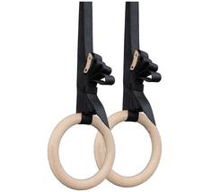 MXM Dřevěné gymnastické kruhy