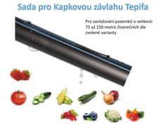 TEPIFA Kapková závlaha pro plochy o velikosti 75 až 150 metrů čtverečních