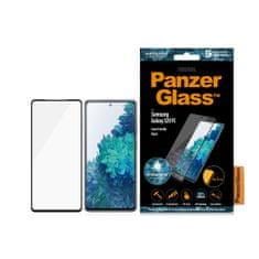 PanzerGlass Edge-to-Edge Antibacterial pro Samsung Galaxy S20 FE 7243, černé