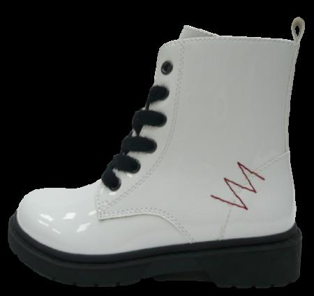 V+J lány magasszárú csizma 511381/Wht, 29, fehér
