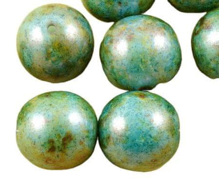 Kraftika 4db picasso barna átlátszatlan kék páfrány zöld csillogás