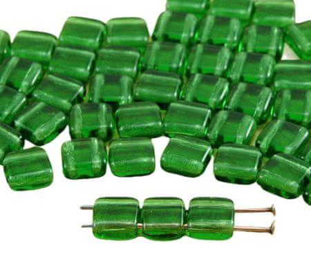 Kraftika 40szt kryształ ciemno-zielony turmalin marmurowa kątownika