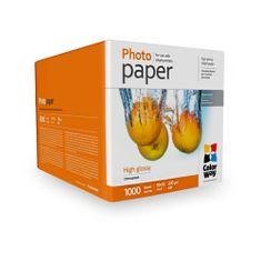 ColorWay Fotopapier CW Vysoko lesklý 230g/m²,1000ks,10x15