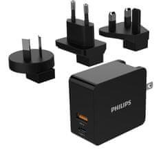 Philips Síťová duální USB nabíječka DLP2621T 4895229103887