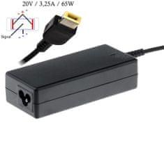 Akyga AK-ND-24 napájecí adaptér pro notebooky Lenovo - 20V/3.25A 65W Slim tip konektor