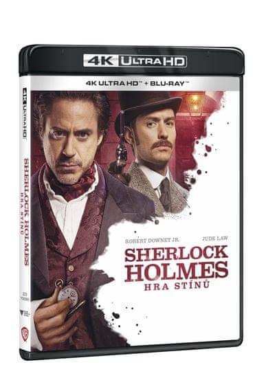 Sherlock Holmes: Hra stínů (2 disky) - Blu-ray + 4K Ultra HD