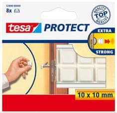 """Tesa Ochranné nárazníky """"Protect® 57899"""", bílá, 10 mm x 10 mm"""