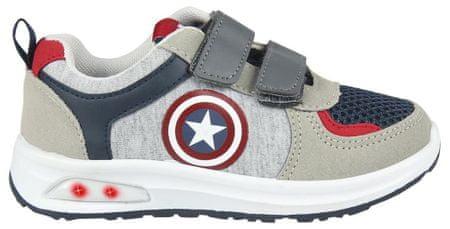 Disney fiú sportcipő Amerika Kapitány 2300004494, 30, piros
