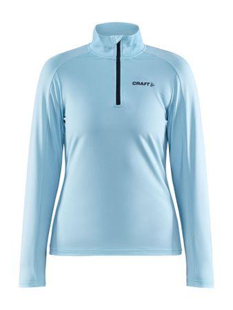 Craft Core Gain Midlayer ženska majica dugih rukava, svijetlo plava, XS