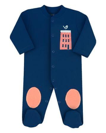 Nini ABN-2131 bodi za dječake od organskog pamuka, tamno plava, 80