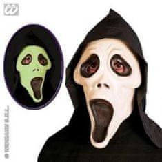 Latexová karnevalová maska Vreskot - Halloween