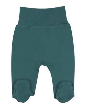 Nini ABN-2283 dekliške hlače z organskega bombaža, zelene, 56