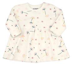 Nini dievčenské šaty z organickej bavlny ABN-2287
