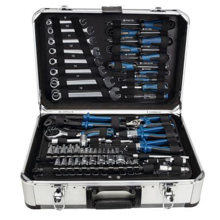 Scheppach aluminijasto kovček z orodjem TB 150, 101 del