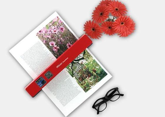 Iriscan Anywhere 5 Wi-Fi (458846) - szybkie skanowanie książek i czasopism w wysokiej rozdzielczości