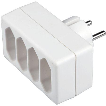 SENCOR SPC 61 elosztó 4× 2,5 A / 250 V, fehér