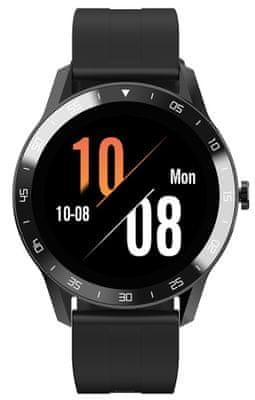 Chytré hodinky iGet FIT sledovanie tepu, fyzickej aktivity, krokov, srdcovej činnosti, vzdialenosti, krokov, multisport, meranie spánku