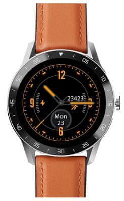 Chytré hodinky iGet Blackview GX1 sledování tepu, fyzické aktivity, kroků, srdeční činnosti, vzdáleností, kroků, multisport, měření spánku