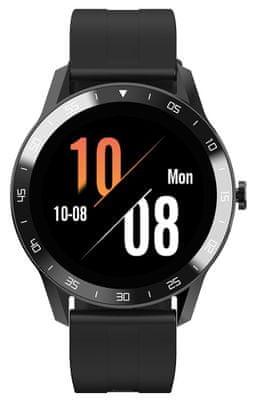 Chytré hodinky iGet Blackview GX1 Brown, dlouhá výdrž na jedno nabití