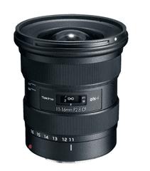 Tokina ATX-I 11-16mm F/2,8 CF objektiv (Canon)