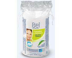 Bel Premium ovalni jastučići za uklanjanje šminke, 45 komada