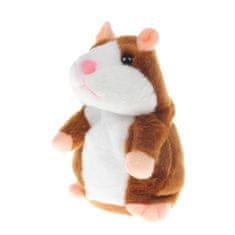Alum online Interaktívny hovoriaci škrečok Talking hamster - hnedý
