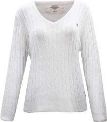 2117 MARINE - dámský svetr - White - 44