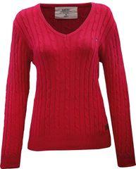 2117 MARINE - dámský svetr - Red - 40
