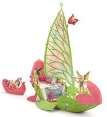 Schleich Seraina magická kvetinová loď 42444