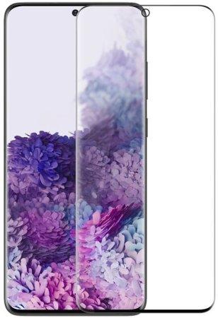 Nillkin kaljeno steklo 3D CP + MAX za Samsung Galaxy S20+, 2451448, črna