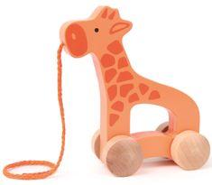 Hape Ťahacia žirafa