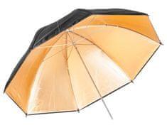 Quadralite Quadralite dáždnik - zlatý 150cm