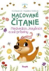 Dienerová, Magdaléna Takáčová Eva: Maľované čítanie – Medvedica jazyčnica a iné príbehy