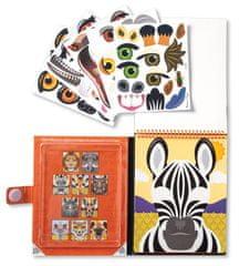 Melissa & Doug Hozz létre arcot - Szafari
