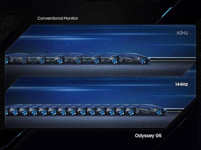 monitor Samsung Odyssey G5 (LC27G55TQWUXEN) AMD FreeSync Gsync 144 hz 1 ms