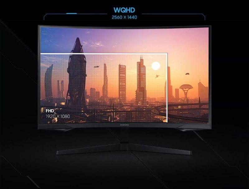 Monitor Samsung Odyssey G5 (LC27G55TQWUXEN) VA 27 palčni igralni zaslon