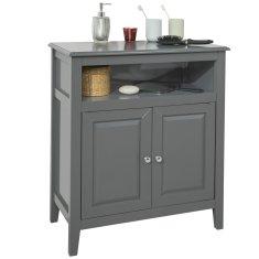 SoBuy FRG204-DG koupelnová komoda koupelnová skříňka příborník předsíňka 69x80x33cm