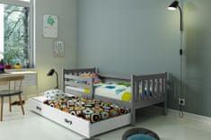 Furnitura Postelja CARINO 190x80 z možnostjo dodatnega ležišča + GRATIS ležišči (VEČ BARV)