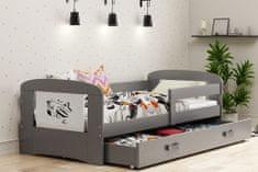 Furnitura POSTELJA FILIP 160x80 S PREDALOM IN LEŽIŠČEM - LETALO (VEČ BARV)
