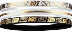 Nike uniszex fejpánt Metallic Headbands 3Pk 2.0